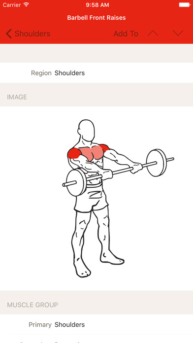 application musculation iphone android