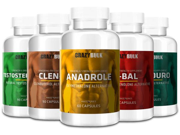 acheter crazy bulk masse musculaire