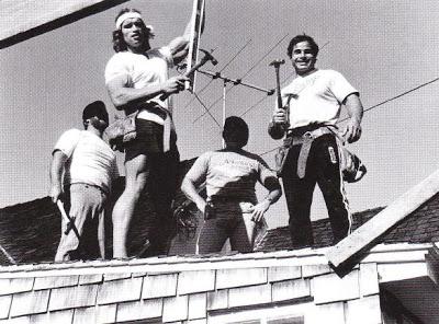 l'entreprise de maçonnerie d'Arnold et Franco